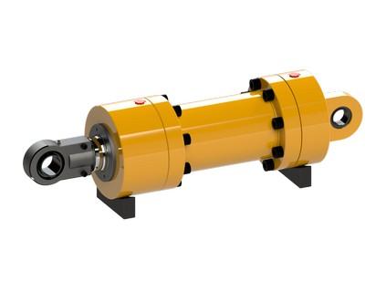 Atuador hidráulico industrial