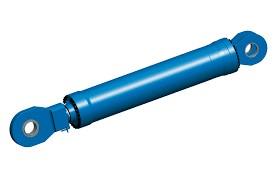 Cilindro hidráulico de simples efeito