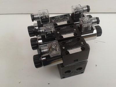 Manutenção de bloco manifold
