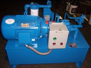 Manutenção de unidades hidráulicas